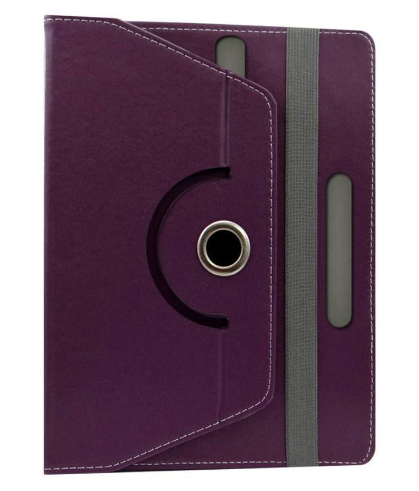 Xolo QC800 Flip Cover By Fastway Purple