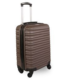 Fly Brown S (Below 60cm) Cabin Hard Luggage