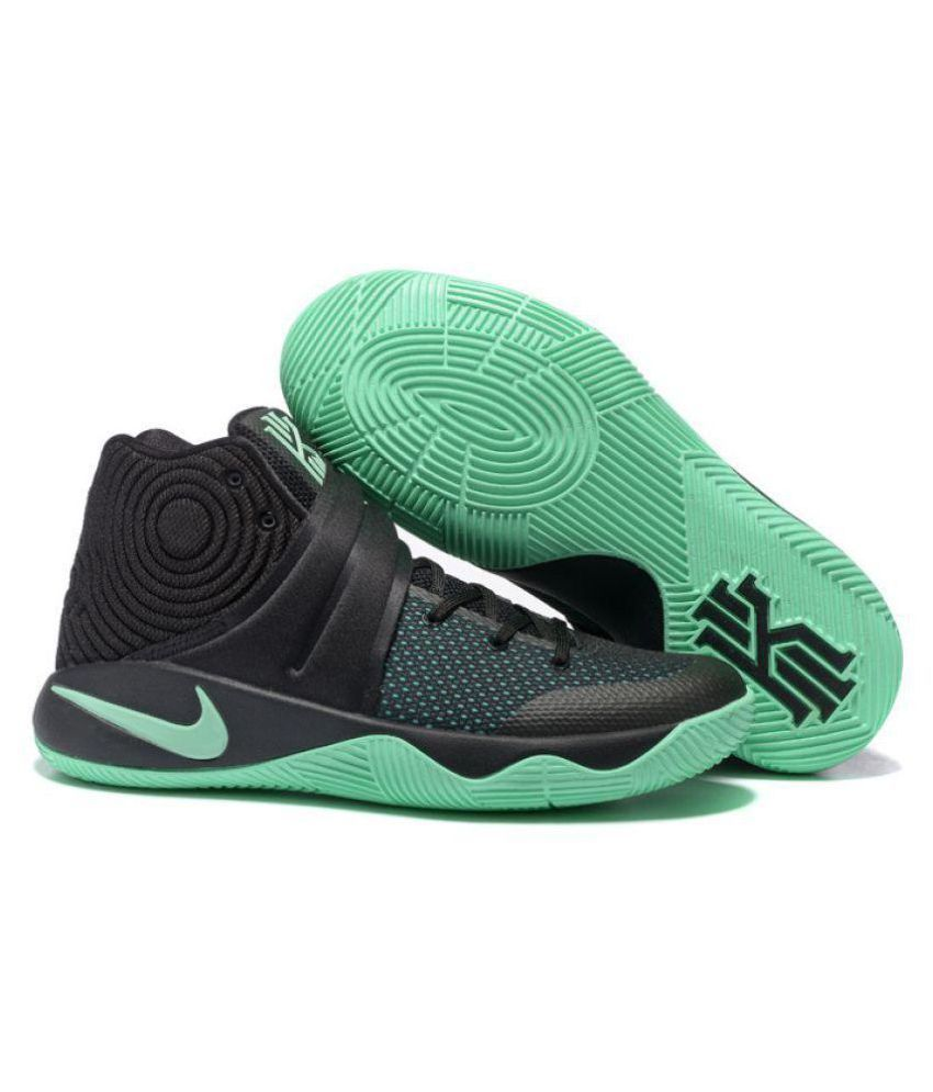 more photos b8efd d9d56 Nike Kyrie 2 Green Basketball Shoes