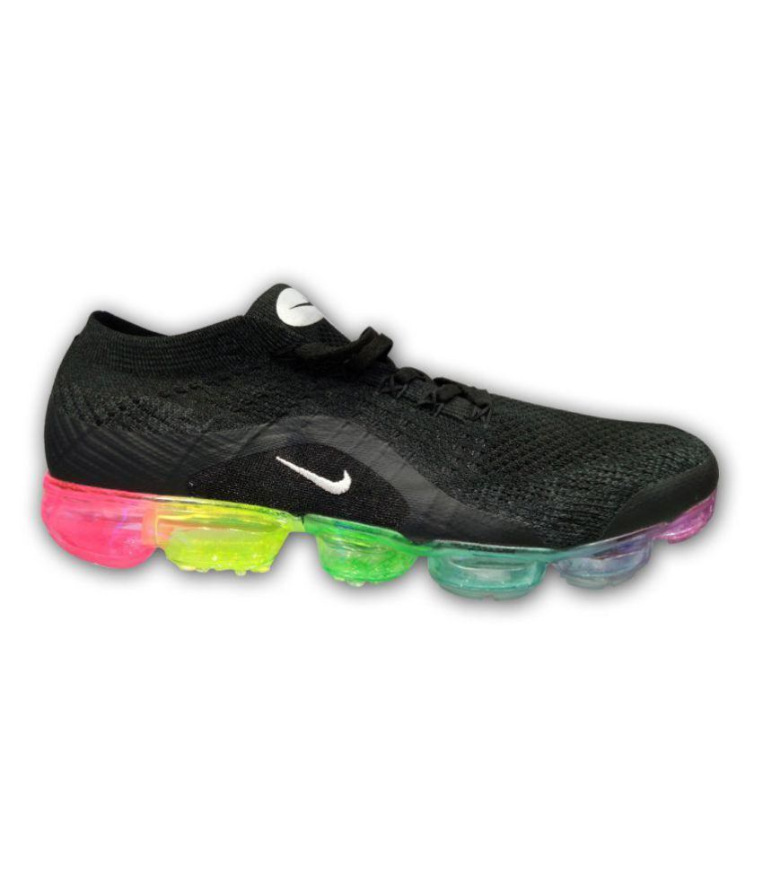 bc4f3c6aa52 Nike Vapormax 2018 Silver Running Shoes - Buy Nike Vapormax 2018 Silver  Running Shoes Online at Best Prices in India on Snapdeal