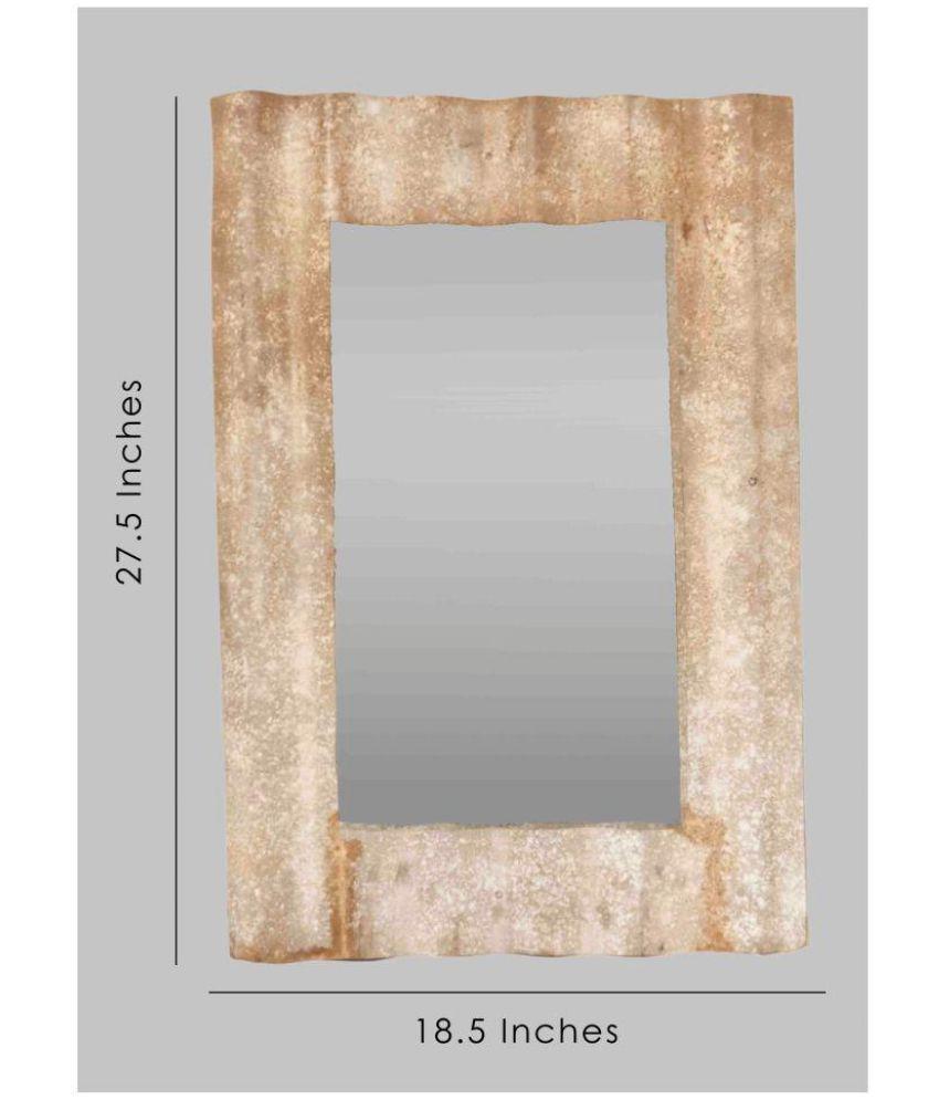 Ujjala Mirror Wall 68 X 46 Cms Pack Of 1