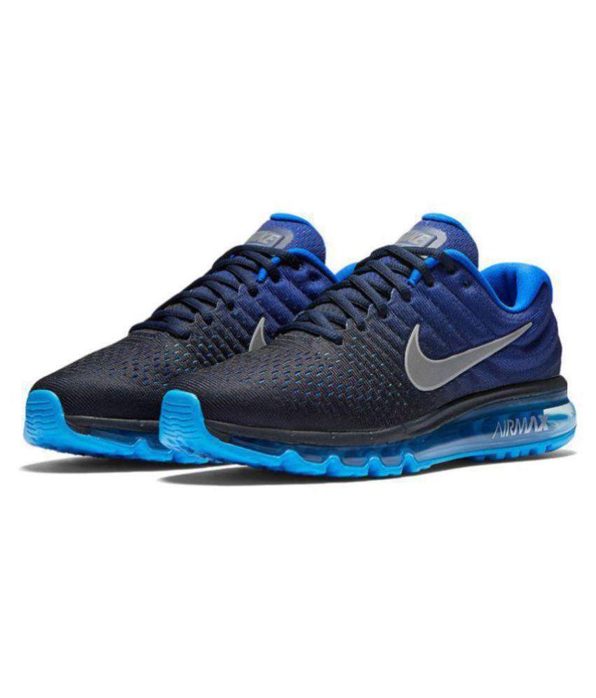 Nike Air Max 2017 Blue Running Shoes - Buy Nike Air Max 2017 Blue ... c256db46ff