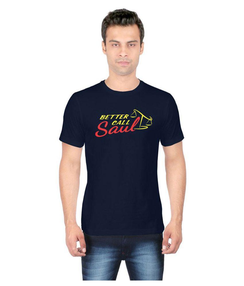 Redwolf Navy Round T-Shirt