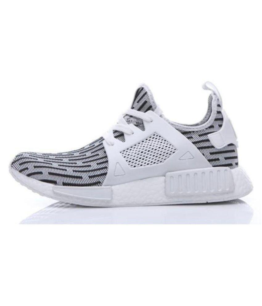 promo code 84ff9 38033 Adidas Nmd Runner White Running Shoes