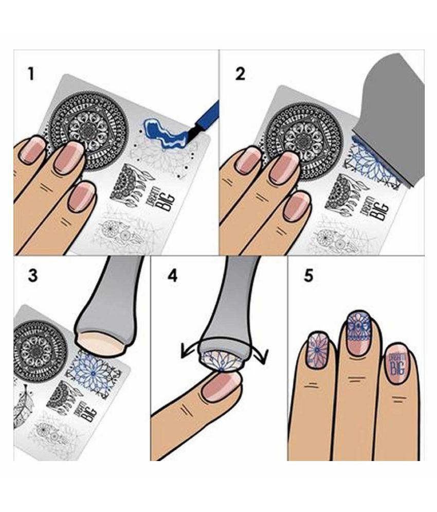 Fstyler Salon Express Nail Art Stamping Kit Nails 100 Gm Buy