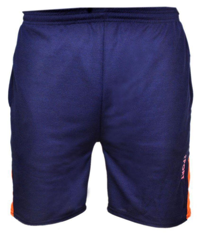 Pari & Prince Blue Shorts