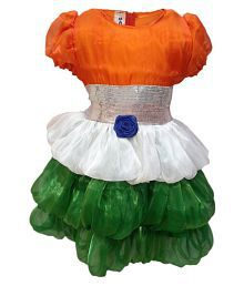 3e163b5466 KFD Try Color frock fancy dress for kids,Western Costume for Annual  function/Theme Party/Competition/Stage Shows/Birthday Party Dress
