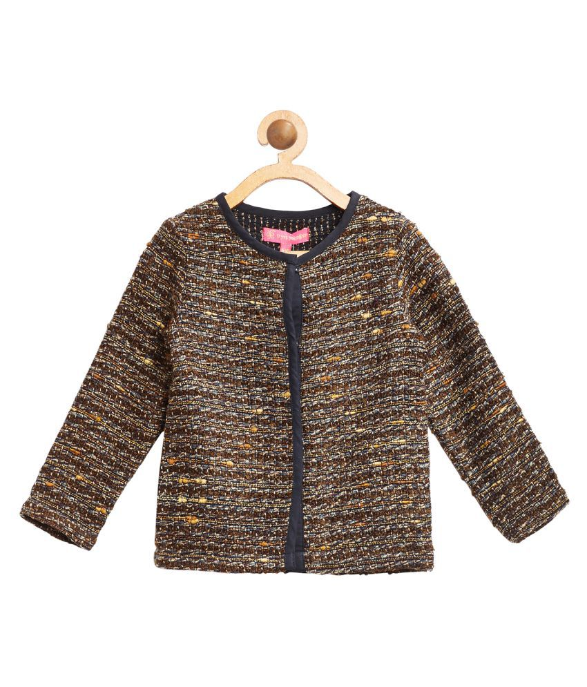 9 Yrs Younger Brown Wollen Jacket