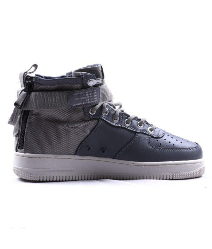 pretty nice 040d5 647b2 Nike SF AIRFORCE 1 Sneakers Gray Casual Shoes - Buy Nike SF AIRFORCE 1  Sneakers Gray Casual Shoes Online at Best Prices in India on Snapdeal