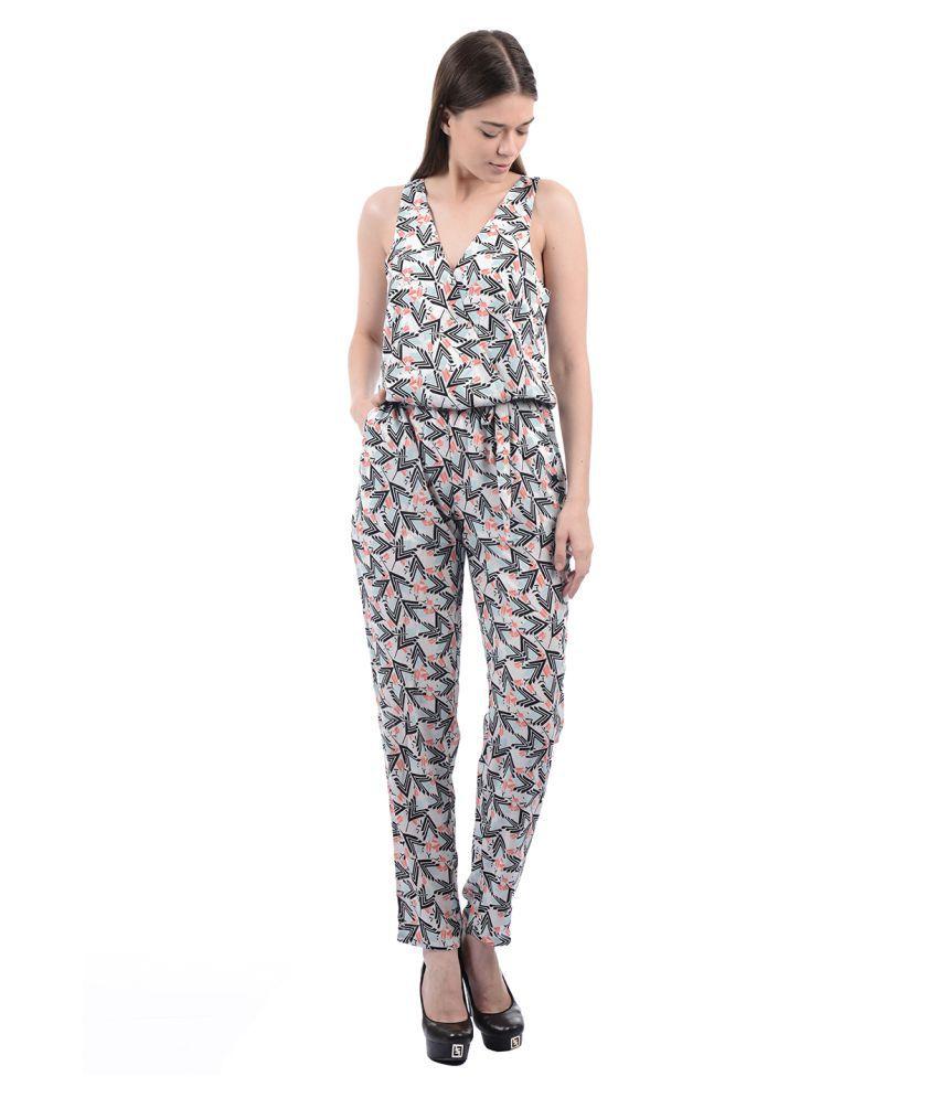 9296f0f3c0bb Pepe Jeans Cotton Multi Color Jumpsuits Pepe Jeans Cotton Multi Color  Jumpsuits ...