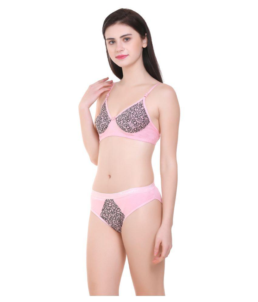 Body Best Cotton Lycra Cupless Bra - Gold