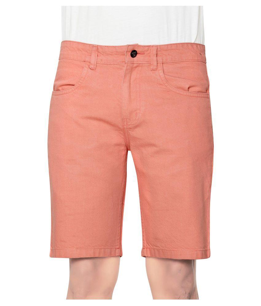 GlobalRang Peach Shorts