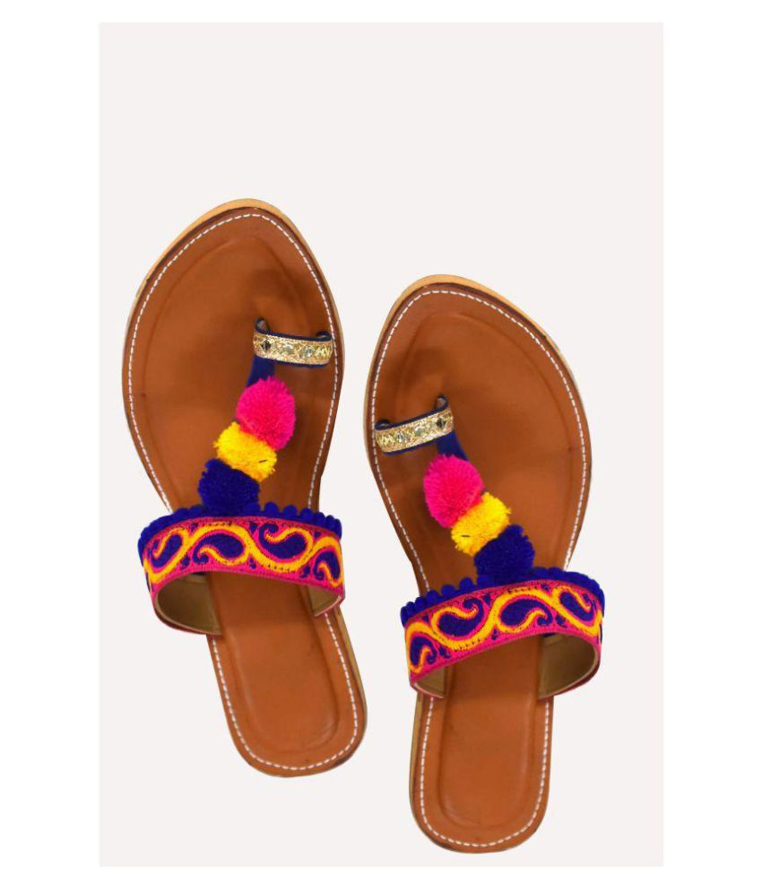 Decot Paradise Multi Color Ethnic Footwear