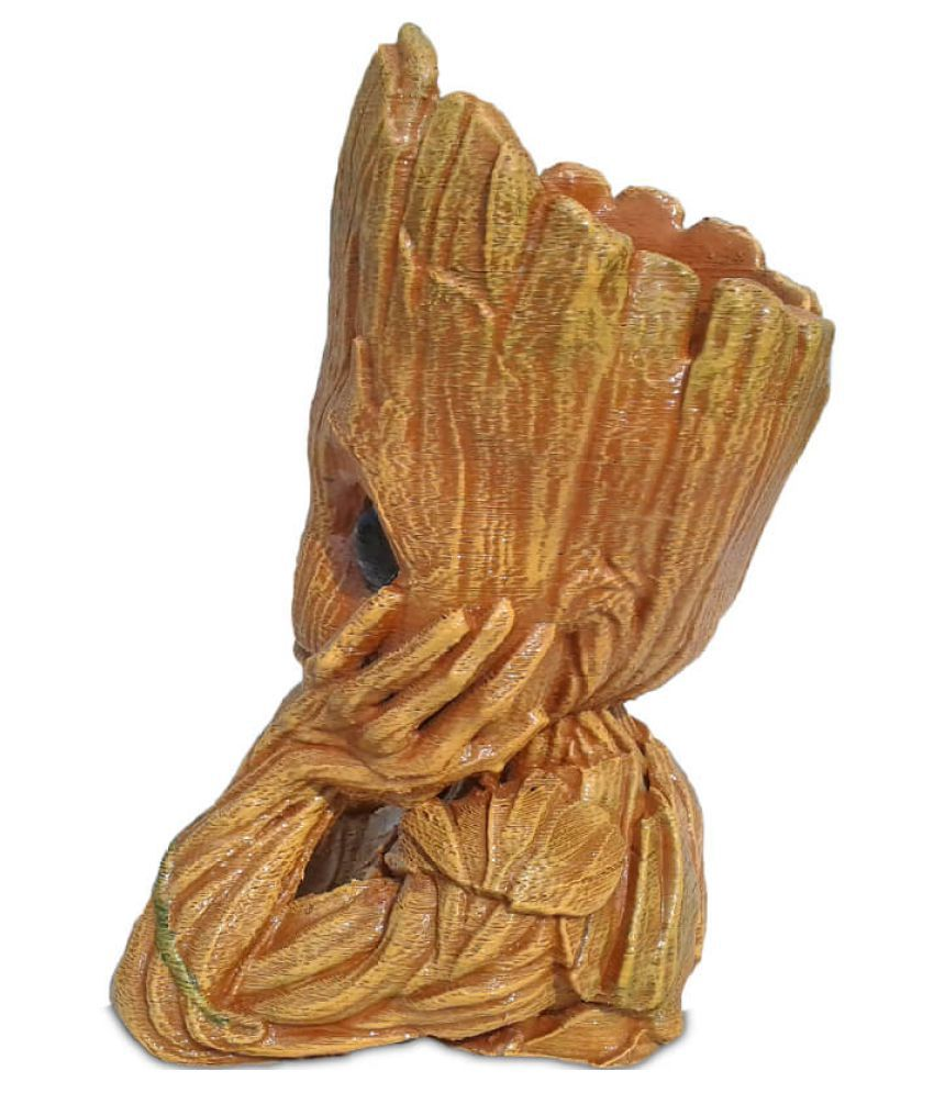 Groot Guardians Of The Galaxy Baby Groot Wooden Look Replica Toy Gift Item