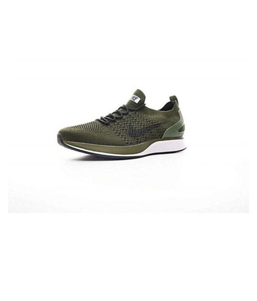 db00bade585f4 Nike Lunar Flyknit 3 Khaki Running Shoes - Buy Nike Lunar Flyknit 3 Khaki  Running Shoes Online at Best Prices in India on Snapdeal