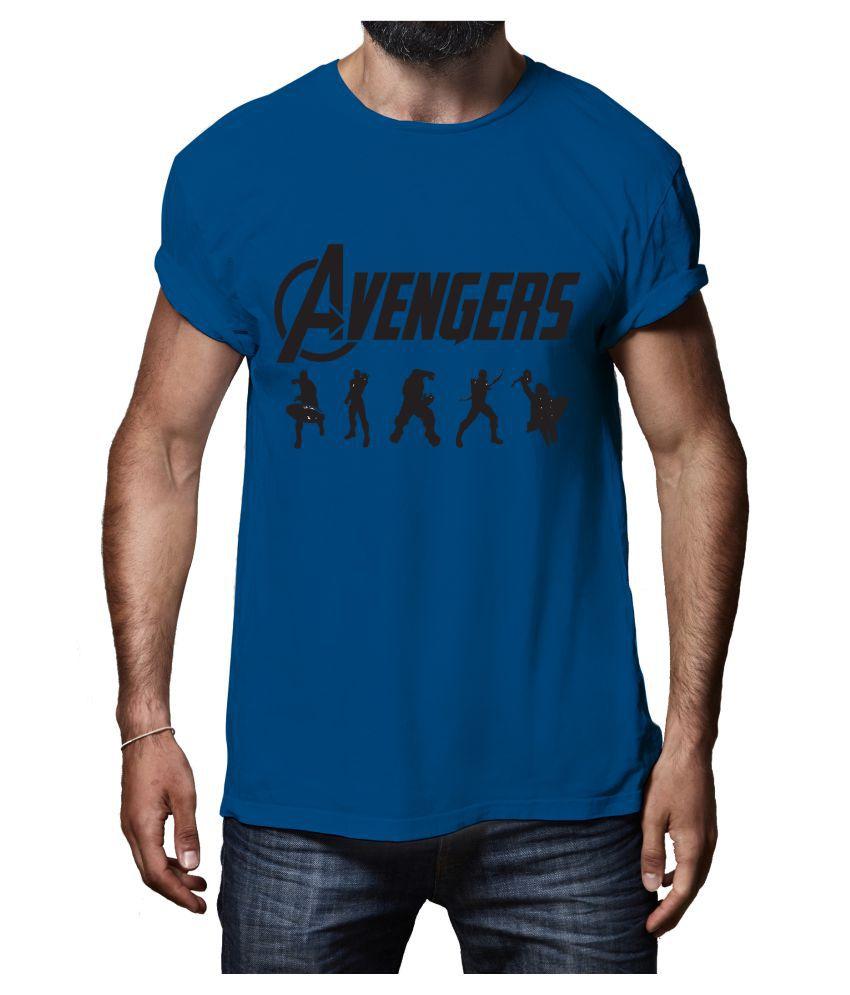 Rappersshop Blue Round T-Shirt
