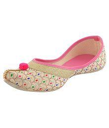 Vaniya shoes Pink Ballerinas