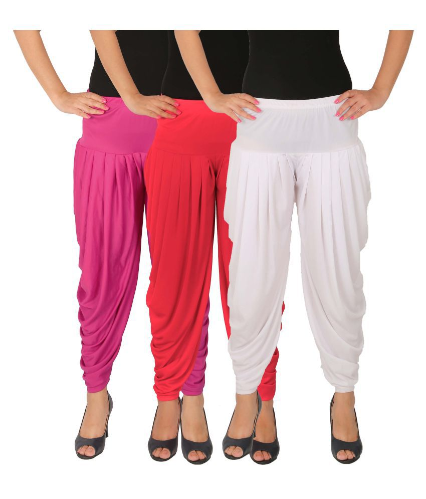 Culture the Dignity Lycra Pack of 3 Harem Pants
