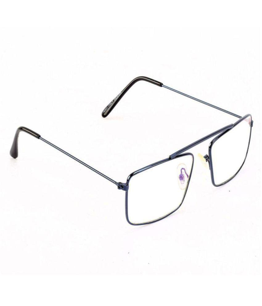 ZIUM Silver Wayfarer Sunglasses ( Raees_2 )