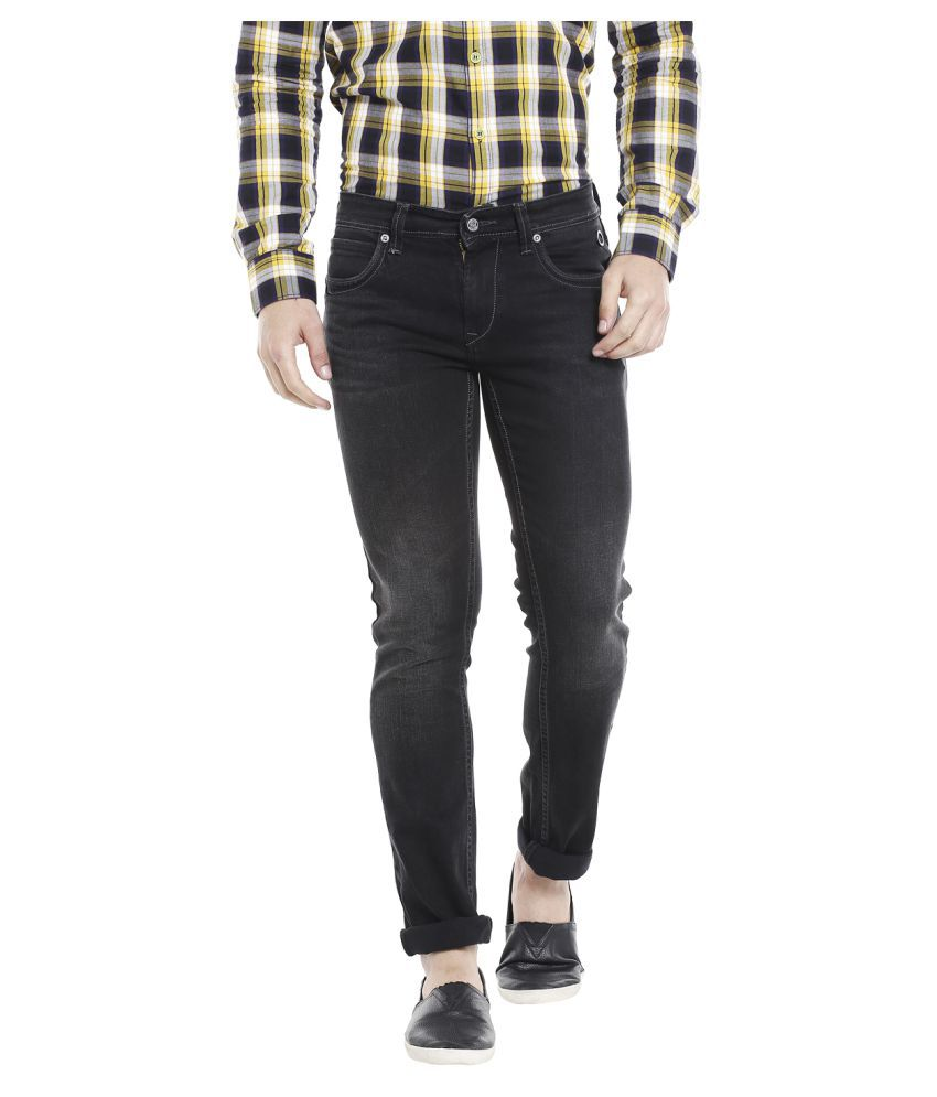 LAWMAN PG3 Black Slim Jeans