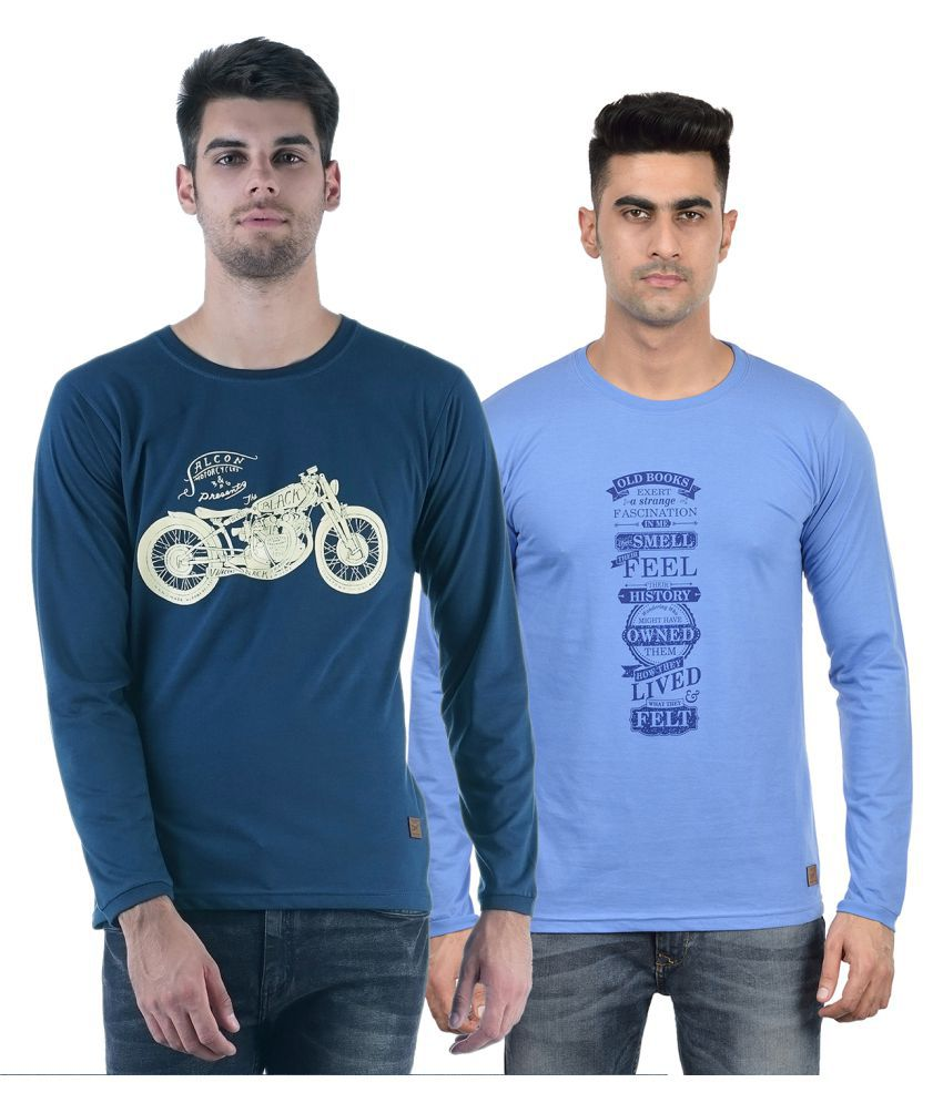 DFH Multi Round T-Shirt Pack of 2