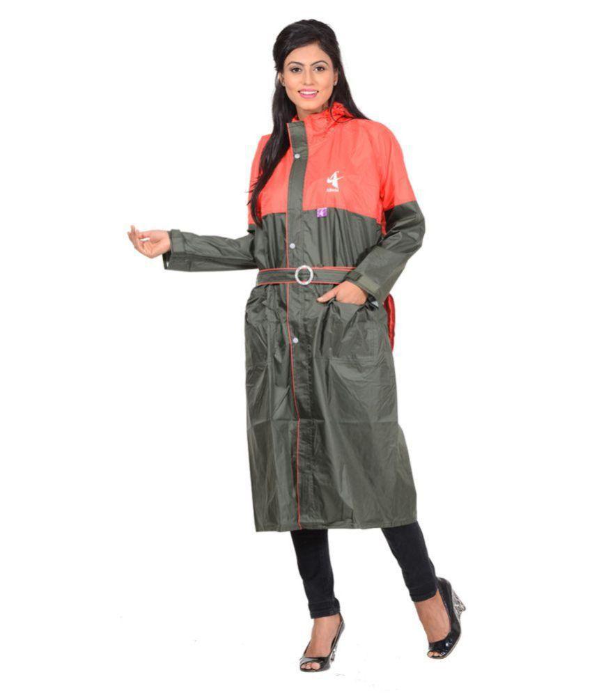 NiceG Short Rainwear - Green