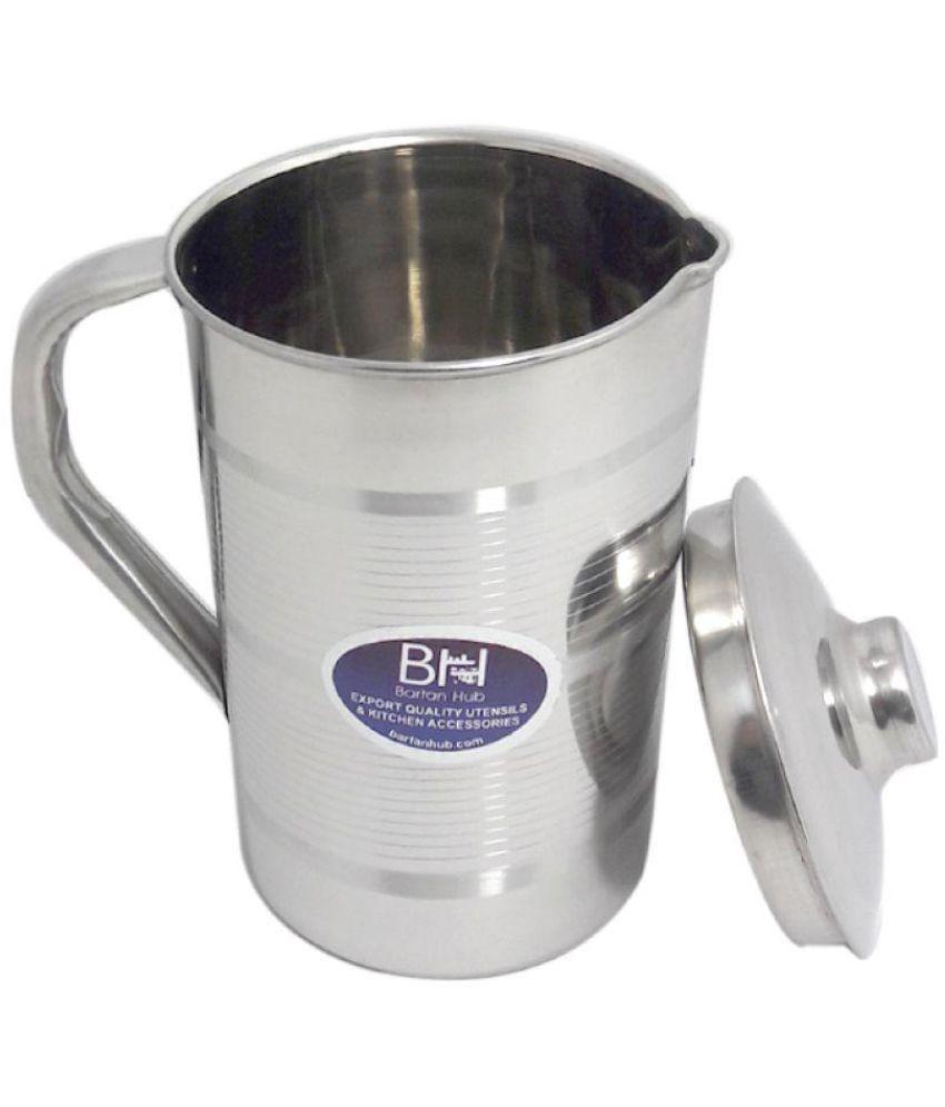 bartan hub Steel Jug Stainless Steel Jugs 1500 mL