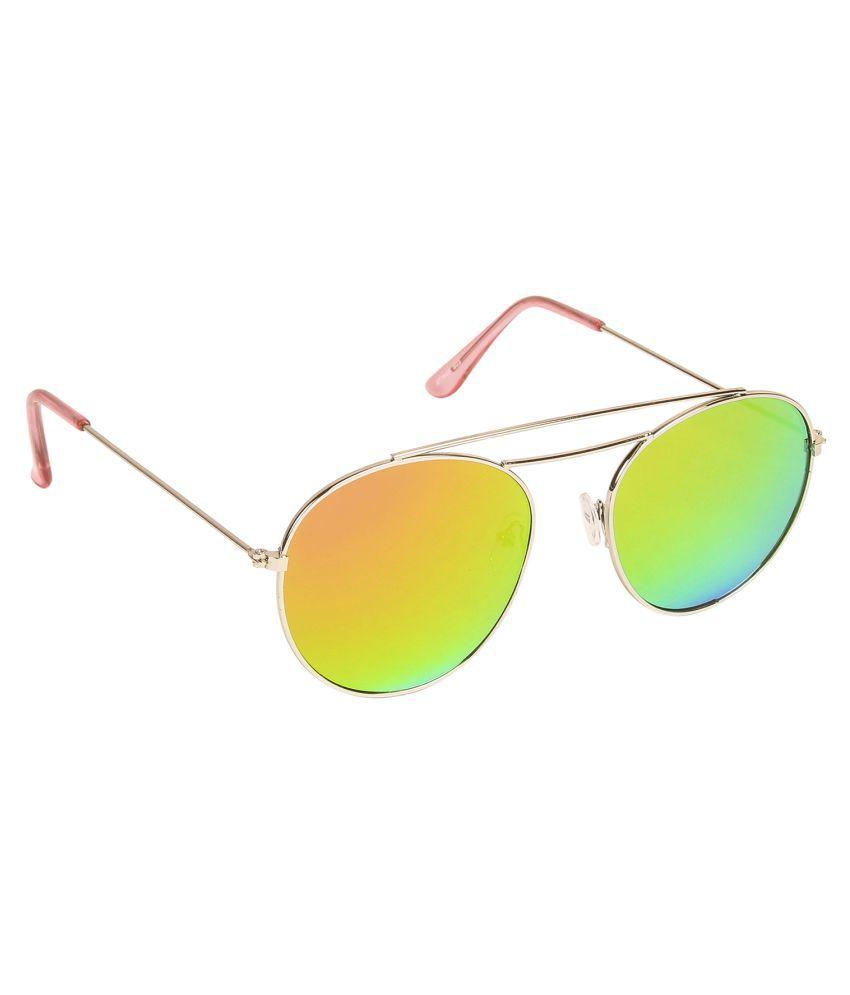 Danny Daze Multicolor Round Sunglasses ( D-002-C13 )