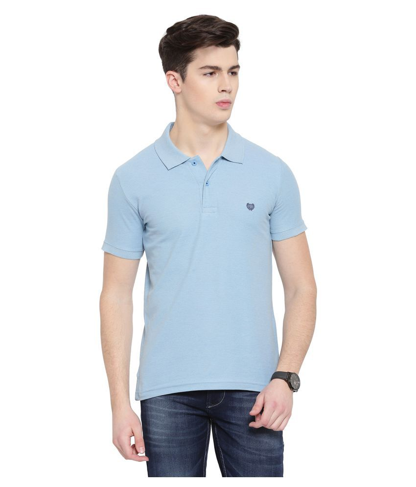 Duke Blue High Neck T-Shirt