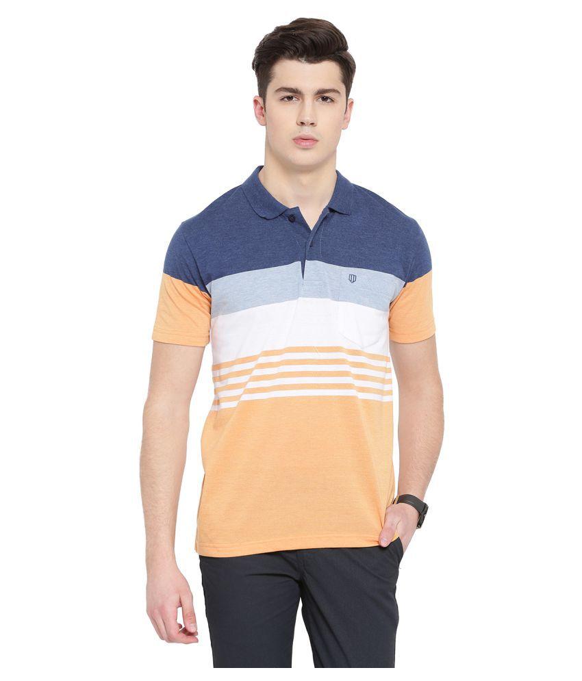 Duke Yellow High Neck T-Shirt