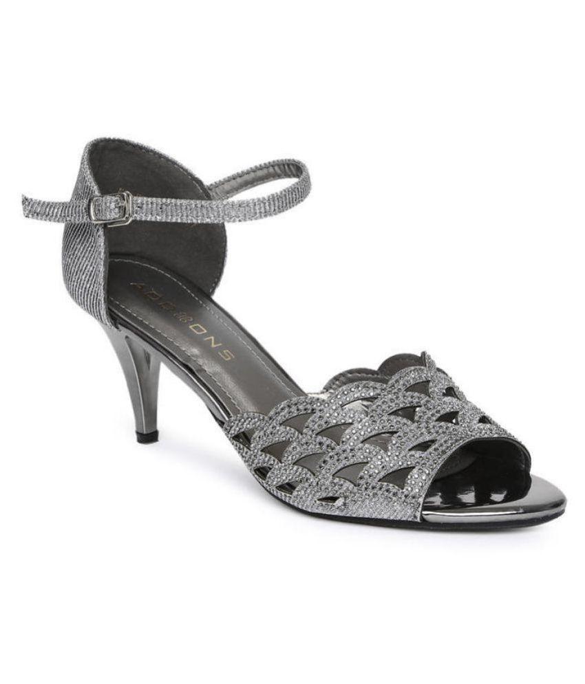 Addons Gray Stiletto Heels