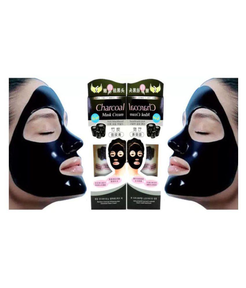 24aa7a8d8b Charcoal Face Mask Anti Blackhead 260g- Pack of 2 (130g Each): Buy ...