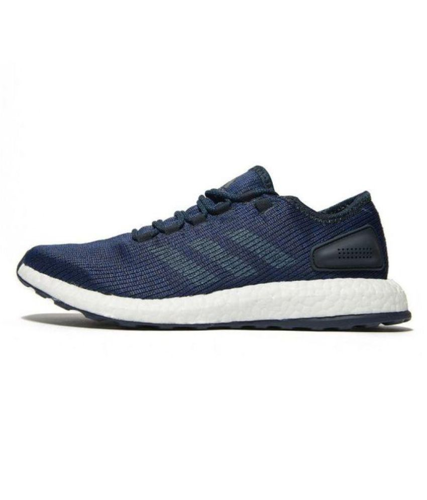 Adidas Pure Boost Low Blue Running