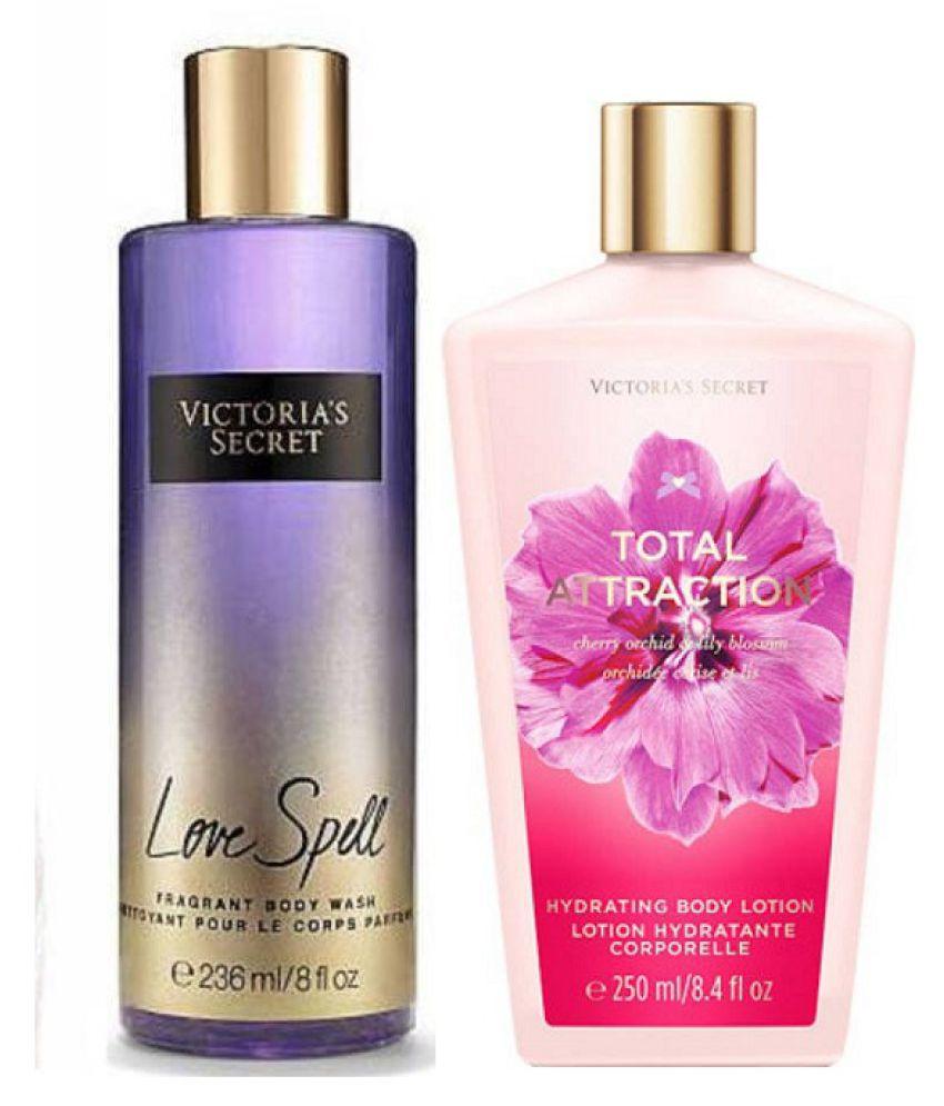 c3d8cbe00cf1b Victoria's Secret Body Wash With Body Lotion Moisturizing Bath Kit