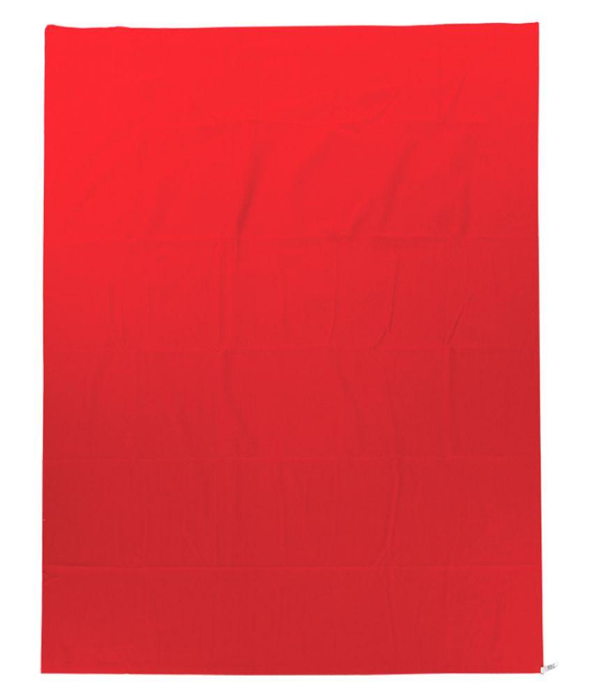 Mee Mee Red Cotton Sleeping Mat ( 30 cm × 10 cm)
