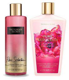 Victoria's Secret Body Wash Body Lotion Moisturizing Bath Kit