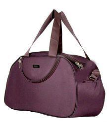 N Choice Purple Solid Duffle Bag