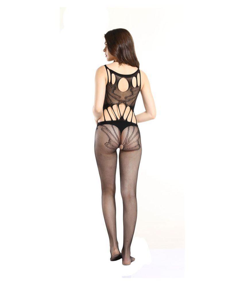 7de953077e948 Dealseven fashion Presents Black Color Full Body Stocking.  Buy ...