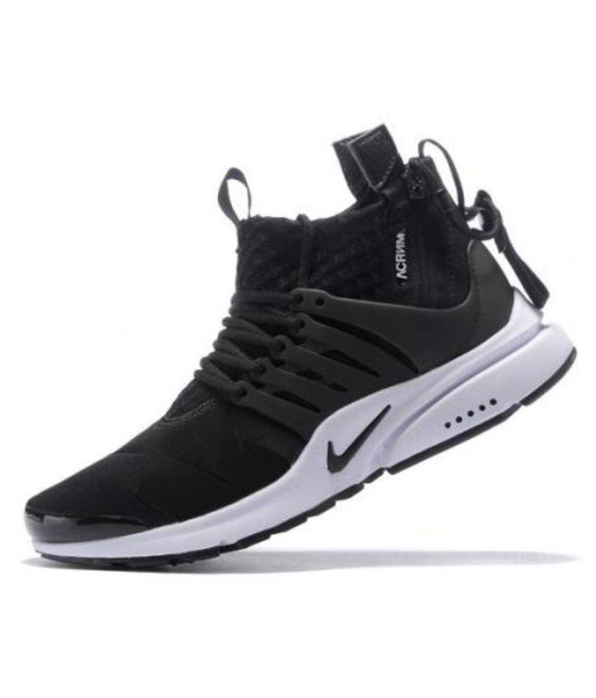 612e227715e4 Nike Air Presto Acronym Black Running Shoes - Buy Nike Air Presto Acronym  Black Running Shoes Online at Best Prices in India on Snapdeal