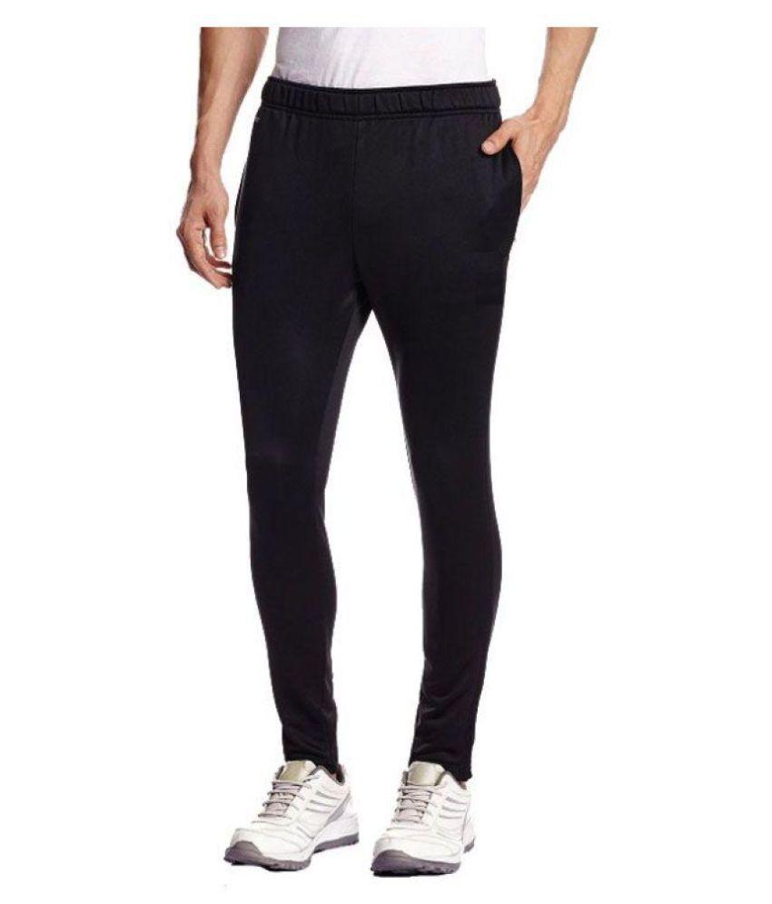 Alini Black Track-Pant Black in Polyester