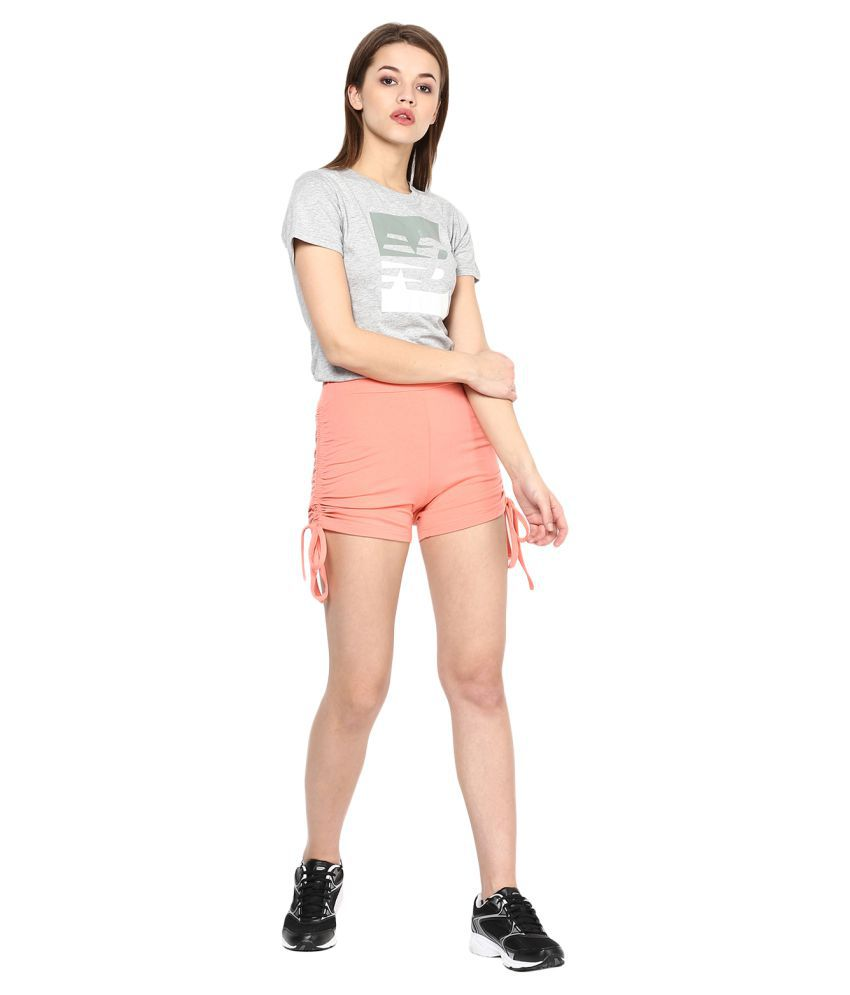 FASHION FLAVOR PEACH COLORED HOT PANT