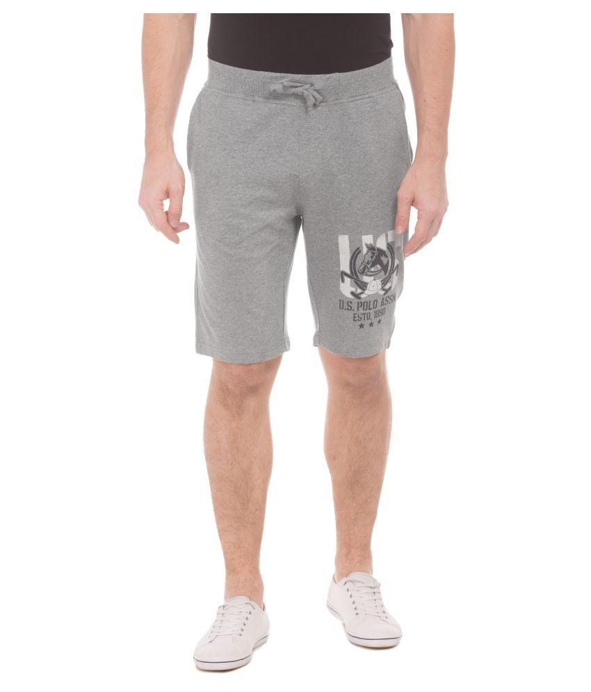 U.S. Polo Assn. Grey Shorts