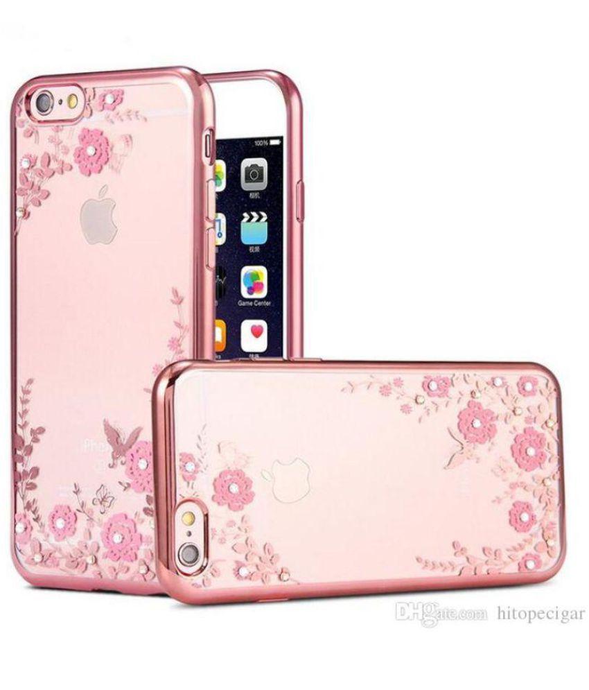 Apple Iphone 6s Plus Soft Silicon Cases Fonovo Rose Gold Plain