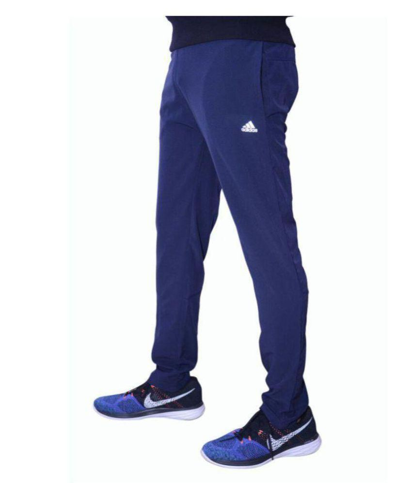 Adidas Navy Blue Sports Track Pant For Men