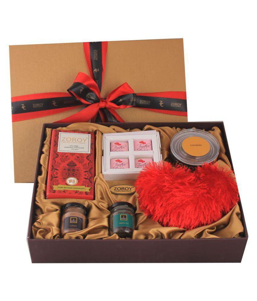 ZOROY LUXURY CHOCOLATE Together forever hamper Assorted Box Valentines day Love Gift 2500 gm