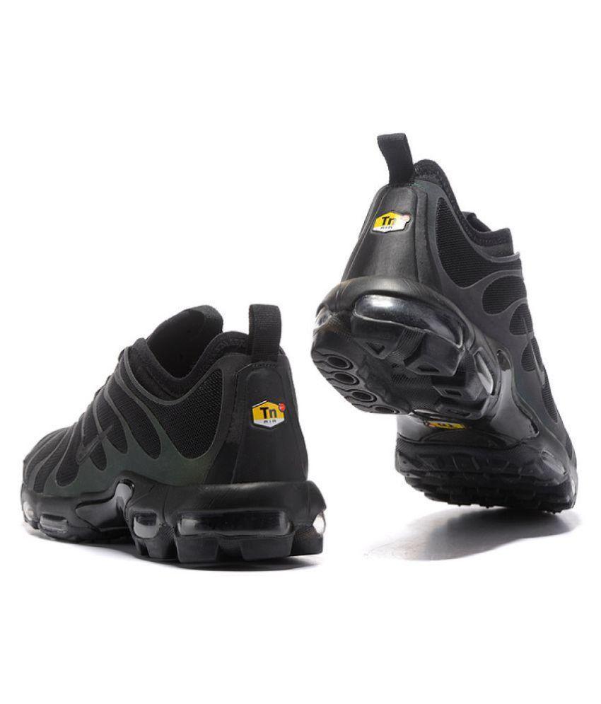 pretty nice c9a3c 8047c ... Nike AirMax Plus TN Ultra Reflective Iridescent Black Running Shoes