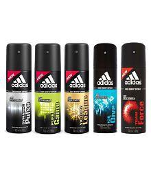 adidas best flavored 150 ml deodorant {pack of 5}