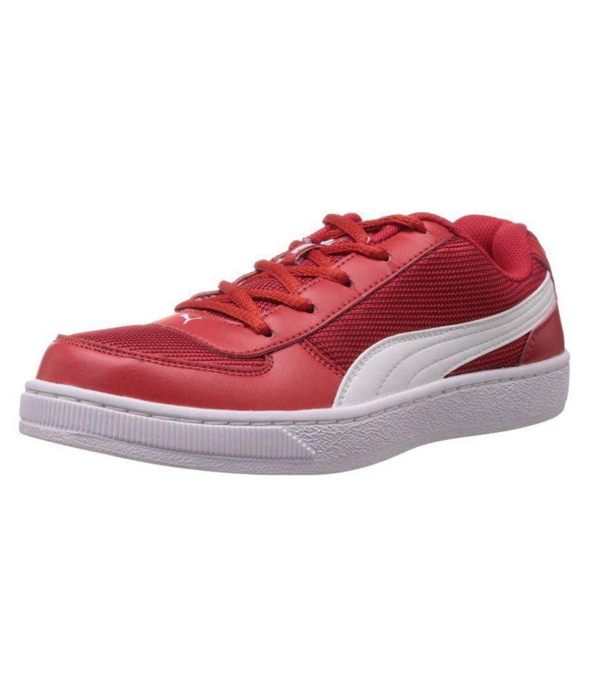 Puma Contest Lite Jr DP red-white