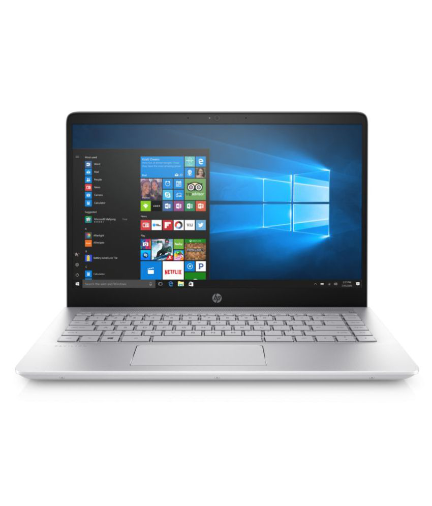 HP 14 14-bf013tu Notebook Core i3 (7th Generation) 4 GB 35.56cm(14) Windows 10 Home without MS Office Not Applicable Silver