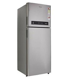 Whirlpool 340 Ltr 3 Star (Alpha Steel, IF 355 ELT 3S) Double Door Refrigerator - Silver